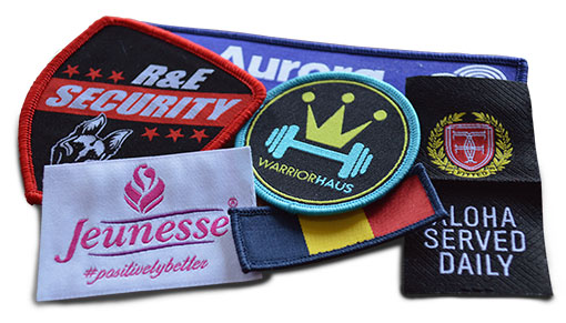 Wove patches and labels in the Philippines