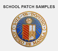 School patchces