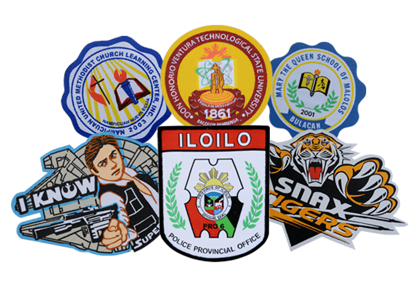 Woven Patches and labels in the Philippines