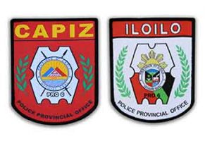 Police and tactical patches in the Philippines